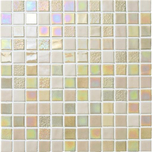 ★出荷単位:10入/ケース  名古屋モザイク ONIX GLASS MOSAIC オニックスガラスモザイク 24角 OV-T2552