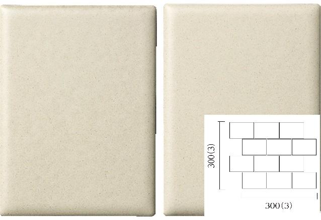 名古屋モザイク PURITY ピュリティ 100×75角平紙貼り(レンガ貼り) (ケース)PUR-R-2