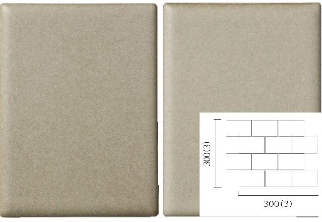 名古屋モザイク PURITY ピュリティ 100×75角平紙貼り(レンガ貼り) (ケース)PUR-R-3