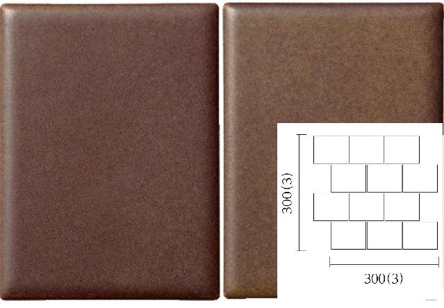 名古屋モザイク PURITY ピュリティ 100×75角平紙貼り(レンガ貼り) (ケース)PUR-R-4