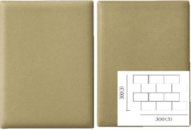 名古屋モザイク PURITY ピュリティ 100×75角平紙貼り(レンガ貼り) (ケース)PUR-R-7