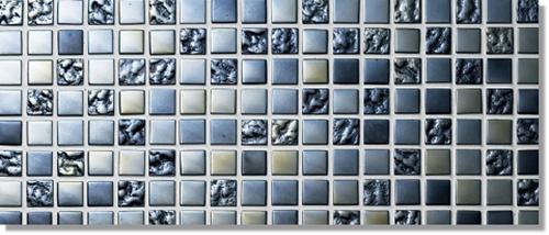 ニッタイ工業株式会社 アートモザイク コレクション シャイニーブラック SHI-30M 平(15角)(ユニット)