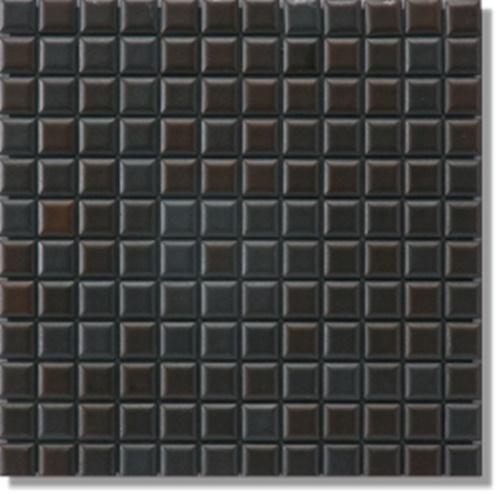 ニッタイ工業株式会社 アートモザイク コレクション ブラックファイブ B5-05 平(25角)(ユニット)