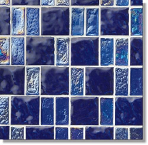 ニッタイ工業株式会社 アートモザイク コレクション グライル GR-03 平(ガラス+タイル)(ユニット)