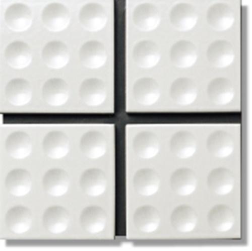 ニッタイ工業株式会社 アートモザイク コレクション トイブロック3×3 LS-069/D-801L ラスター 平(ユニット)<準>