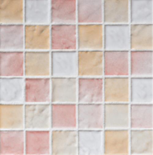 ニッタイ工業株式会社 アートモザイク コレクション ロマネス RN-025/MX-24 平(25角)ユニット