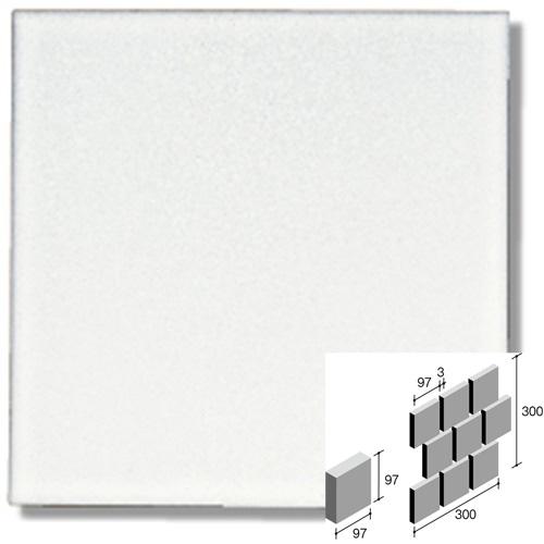 ニッタイ工業株式会社 アートモザイク コレクション トランク TRA-01RU 平(100角)レンガ張り(ユニット)