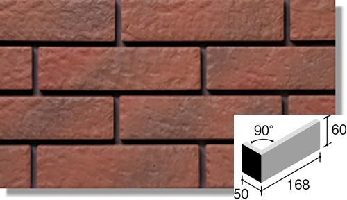 ニッタイ工業株式会社 外装壁タイル ジオスケープ(接着剤張り工法) GSQ-40M 標準曲り(接着)