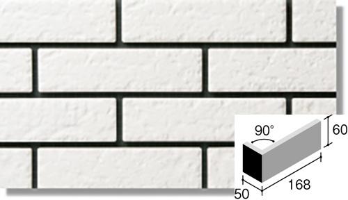 ニッタイ工業株式会社 外装壁タイル ジオスケープ(接着剤張り工法) GSQ-60M 標準曲り(接着)