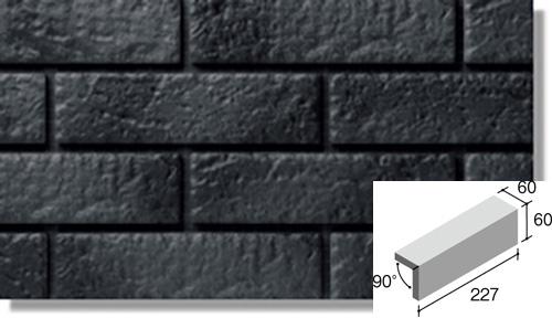 ニッタイ工業株式会社 外装壁タイル ジオスケープ(接着剤張り工法) GSQ-70G 二丁マグサ(接着)