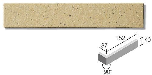 ニッタイ工業株式会社 外装壁タイル モデューロボーダー(接着剤張り工法) MOD-002FM ボーダー曲り(フラット面)(接着)