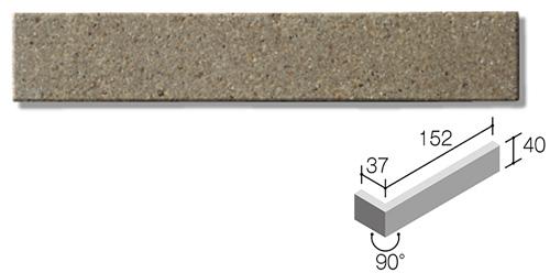ニッタイ工業株式会社 外装壁タイル モデューロボーダー(接着剤張り工法) MOD-004FM ボーダー曲り(フラット面)(接着)