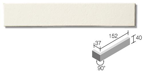ニッタイ工業株式会社 外装壁タイル モデューロボーダー(接着剤張り工法) MOD-007FM ボーダー曲り(フラット面)(接着)