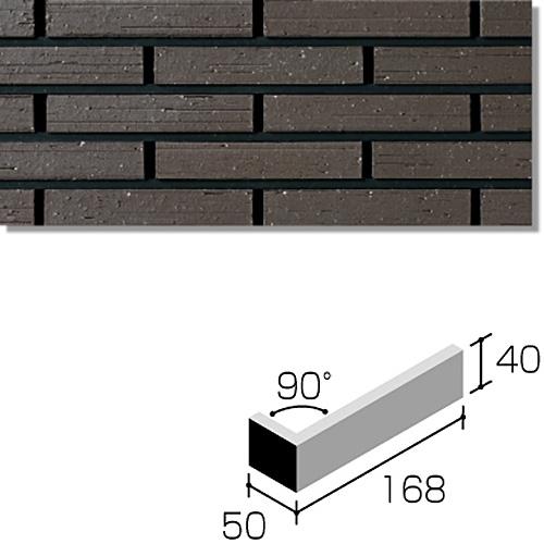 ニッタイ工業株式会社 外装壁タイル ラフネスボーダー(接着剤張り工法) RNES-6H-40 ボーダー標準曲り(接着)