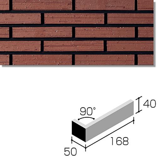 ニッタイ工業株式会社 外装壁タイル ラフネスボーダー(接着剤張り工法) RNES-6H-50 ボーダー標準曲り(接着)