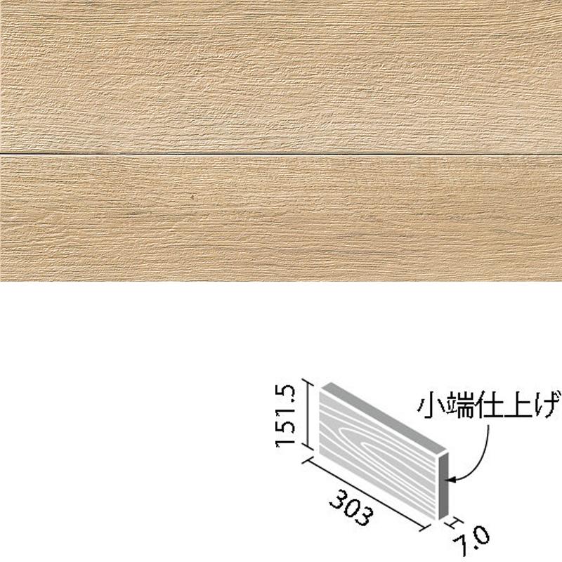 LIXIL(INAX) アレルピュア ウォール ビンテージオーク 303x151角片面小端仕上げ(短辺) ARW-3151T/OAK2(R)