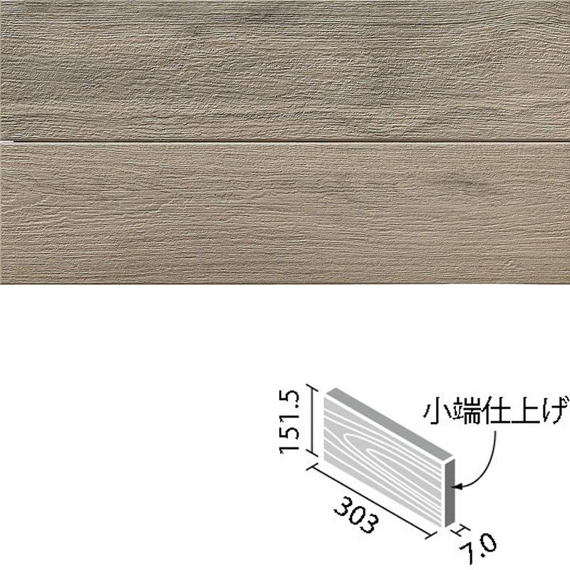 LIXIL(INAX) アレルピュア ウォール ビンテージオーク 303x151角片面小端仕上げ(短辺) ARW-3151T/OAK3(R)