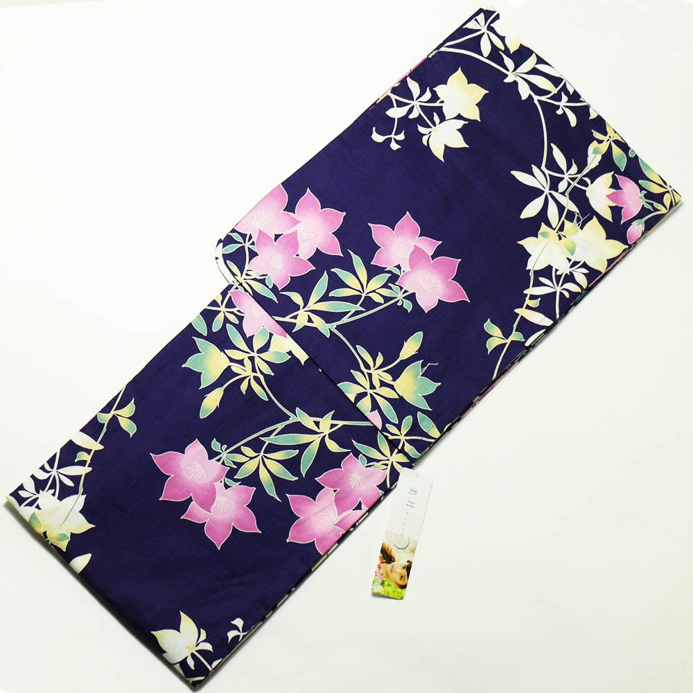 山本美月 mizuki ゆかた ブランド レディース 仕立て上がり浴衣 綿麻変り織 プレタ浴衣