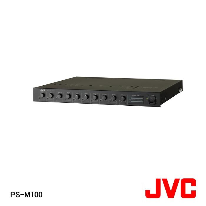 【在庫処分品】【JVCケンウッド/ビクター】弱電機器オーディオミキサー PS-M100【A】