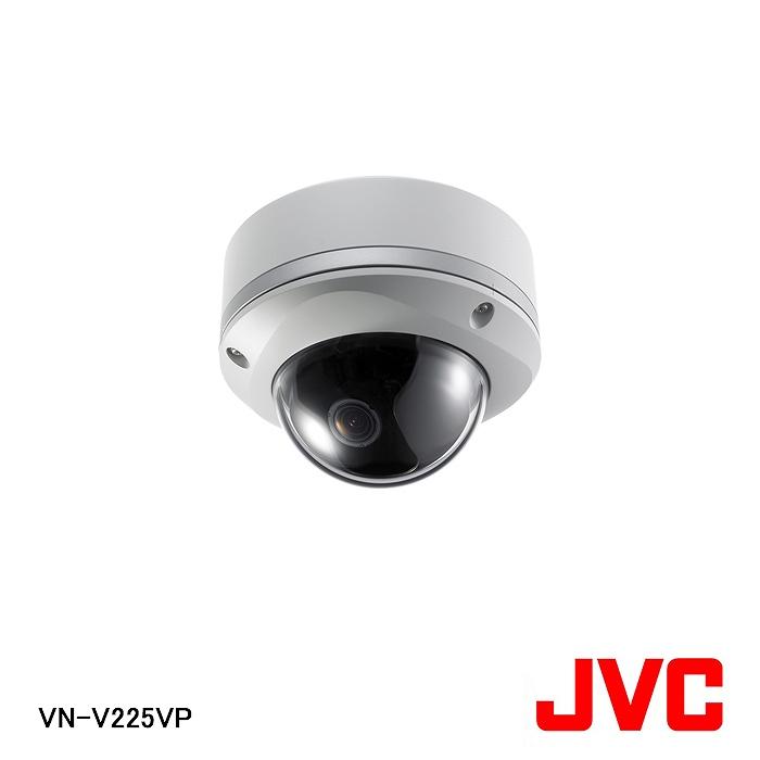 【在庫処分品】【JVCケンウッド/ビクター】弱電機器耐衝撃ドーム型ネットワークカメラ VN-V225VP【A】