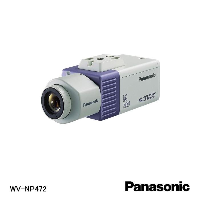 【在庫処分品】【Panasonic/パナソニック】弱電機器スーパーダイナミック 方式ネットワークカメラ   WV-NP472【A】