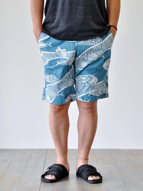 SUNLIGHT BELIEVER ALOHA SHORTS  ハワイアン ショーツ ゆっくり メンズ ショートパンツ