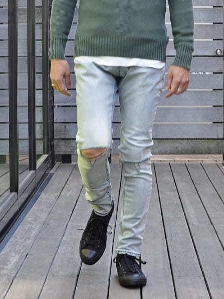ZANEROBE ゼインローブ JOE BLOW PANT 海外モデル ゼインローブ パンツ デニム ダメージ デニムパンツ メンズジーンズ 穴あきデニム 輸入品