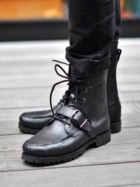 Ralph Lauren USA Renger Boots  ラルフローレン ブーツ USA アメリカ直輸入メンズハーフブーツ