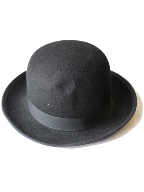 ニューヨーク NY の老舗帽子屋が作った レアなHATはオシャレ度高し ついに入荷 NEW YORK ボーラーハット ダービー 山高帽 HAT 休日 ハット