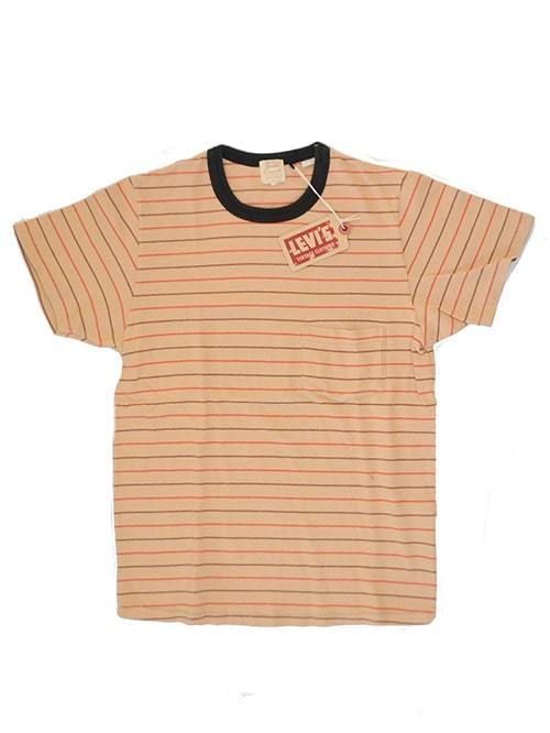 LEVI'S VINTAGE CLOTHING 1960's 販売店 限定品 リーバイス リーバイスヴィンテージクロージング ボーダーT リーバイスビンテージクロージング 正規販売店 新品リーバイス