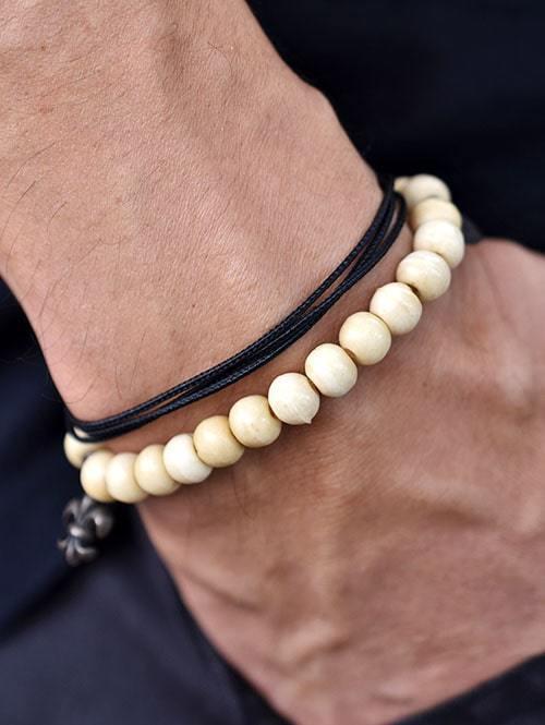 M COHEM エムコーエン ボーンブレスレット 数珠ブレスレット メンズ ブレスレット メンズ 正規品 アメリカ輸入品