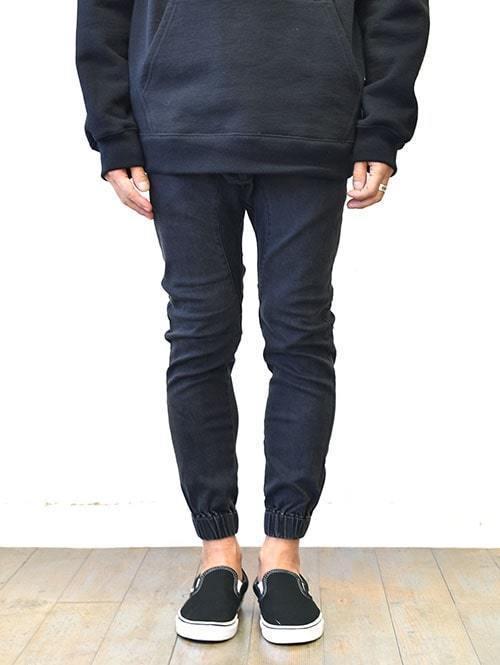 ZANEROBE SURESHOT DENIM JOGGER MILLED BLACK JAPANモデル ゼインローブ 日本モデル ジョガーパンツ ジャパンモデル