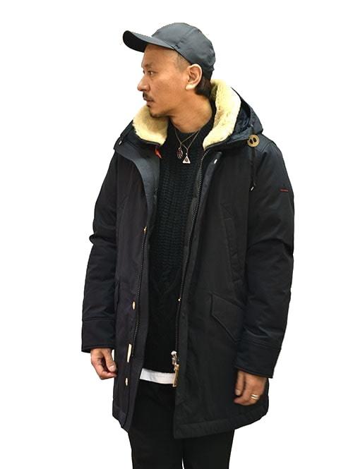 最高級 入荷予定 グースダウン お求めやすく価格改定 人気コート 人気ダウンジャケット 最も暖かいダウン HOLUBAR Sun Valley ホルバー 原宿エトフ アウトドアジャケット Black Down メンズダウン正規品 ダウンジャケット Jacket