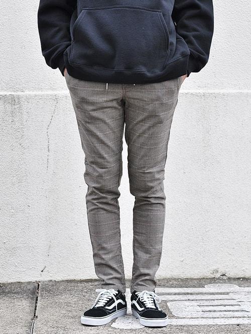 ZANEROBE UNBLOCKSHOT ゼインローブ チェックパンツ ジョガー パンツ リラックスパンツ  オーストラリア 海外モデル