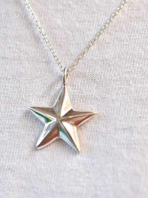 Sunset&Eagle STAR PENDANT サンセットイーグル シルバー ハンドメイド スター 星 メンズ ネックレス インディアンジュエリー