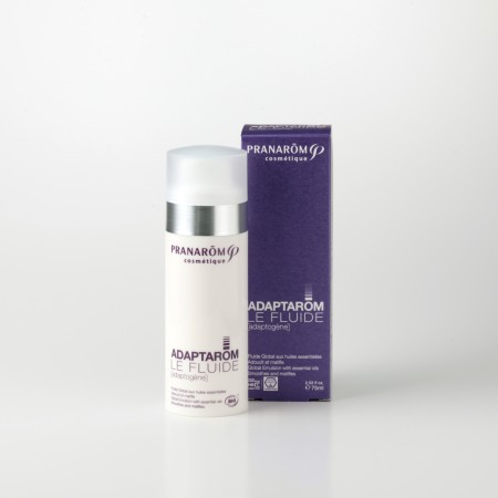 プラナロム アダプタロム・フリュイド 75ml 12672 アダプトゲニック( 送料無料 ) 精油を含有し、お肌のタイプを気にせず使用できる化粧品 ( コスメ )。天然 自然 オーガニック アロマ お肌に合わせた高級スキンケア ( PRANAROM ) ( 送料無料 ) 基礎化粧品