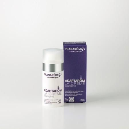 プラナロム アダプタロム・クリーム 50ml 12673 アダプトゲニック( 送料無料 ) 精油を含有し、お肌のタイプを気にせず使用できる化粧品 ( コスメ )。天然 自然 オーガニック アロマ お肌に合わせた高級スキンケア ( PRANAROM ) ( 送料無料 ) 基礎化粧品