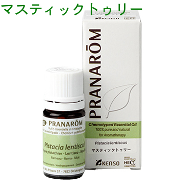The p-5 ml 154 mastic Tully essential oils Pranarom (PRANAROM) analysis  table with essential oil (essential oil) in the peace of aromatherapy's   The