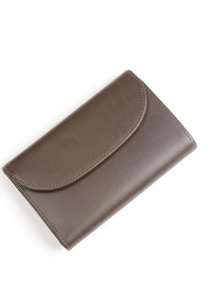 ホワイトハウスコックス s7660 ダービーコレクション 三つ折小銭入れ付財布 バイカラーモデル フランス産ホースハイド(馬革) 英国製 ブラウン x タン