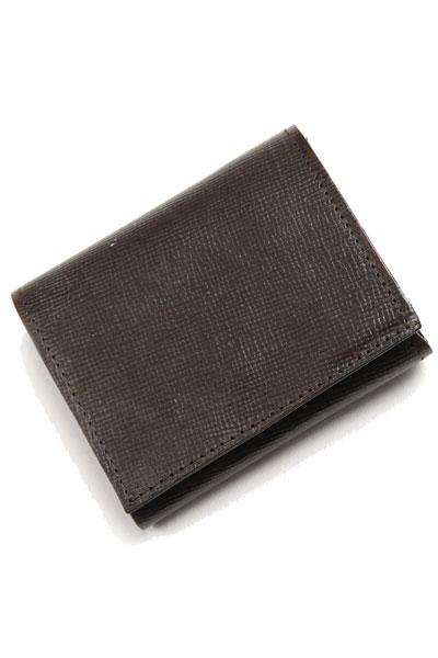 グレンロイヤル GLENROYAL スモール二つ折り財布 エンボス 03-5923 シガー レイクランドブライドルレザー