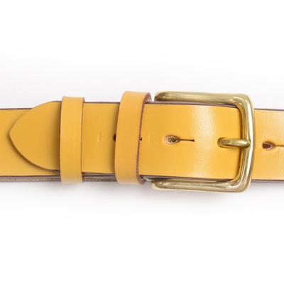 リアルハーネス スティラップレザー 馬具革 ベルト ロンドンカラー 38mm 英国製 ホールナンバー付 UKブライドル 真鍮バックルqzMVSpU