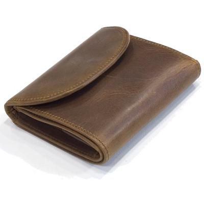 セトラー(SETTLER)ワンワールドコレクション ヌバックタイプ オイルドレザー OW1058 3折り財布(SMALL 3FOLD WALLET)BROWN(ブラウン