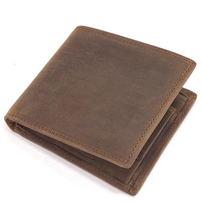 セトラー(SETTLER)WHCのセカンドライン ワンワールドコレクション ヌバックタイプ オイルドレザー OW1563 二つ折コインケース付財布(COIN WALLET)BROWN(ブラウン