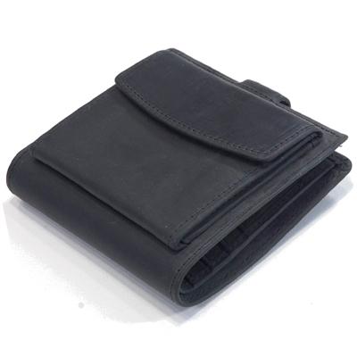 セトラー(SETTLER)WHCのセカンドライン ワンワールドコレクション ヌバックタイプ オイルドレザー OW1902 外小銭付 パースウォレット(PURSE WALLET)BLACK(ブラック)