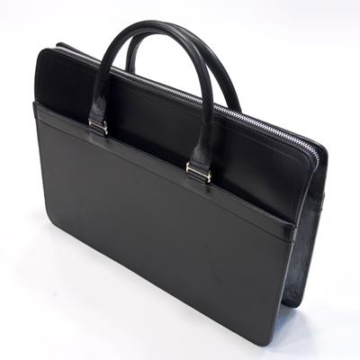ホワイトハウスコックス WhitehouseCox L9892 ジップブリーフケース ブラック ブライドルレザー 別称書類バッグ・手提鞄