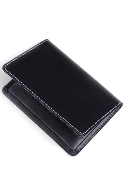 公式 ホワイトハウスコックス S7412 WhitehouseCox s7412 カードケース 商い リージェントブライドルレザー名刺入れ ネイビーxネイビー
