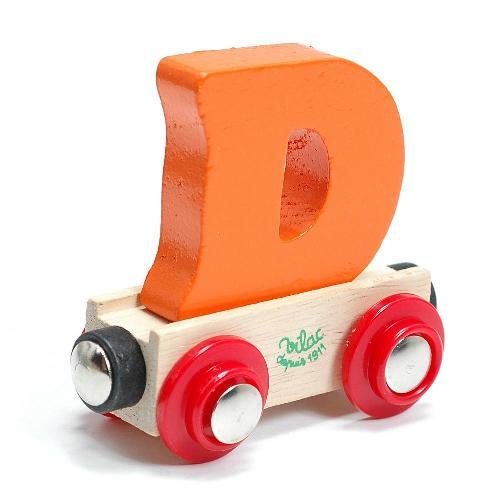 ヴィラック フランス いつでも送料無料 在庫一掃売り切りセール 木のおもちゃ大人気 アルファベット トレイン Vilac おもちゃ 知育玩具 キッズ 木製 D