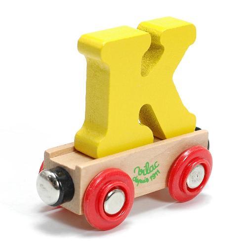 ヴィラック フランス 木のおもちゃ大人気 アルファベット トレイン Vilac 木製 キッズ 知育玩具 おもちゃ K 毎日激安特売で 営業中です 日本製