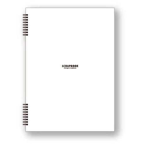 エトランジェ ディ コスタリカの文房具 etranger di costarica A4スクラップブック 20シート ホワイト BASIS シンプル 公式通販サイト