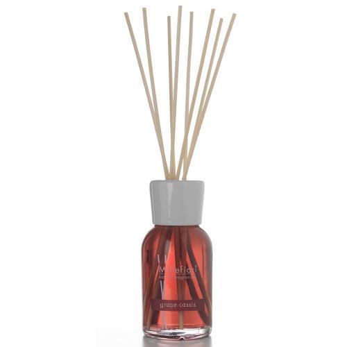 millefiori リードディフューザー スティック リードディフューザー L 500ml グレープカシス ディフューザー ガラスボトル イタリア製 ミッレフィオーリ 芳香剤